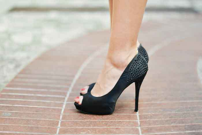 how to make heels quieter