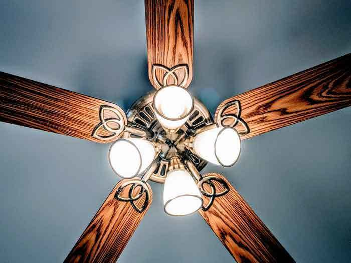 How to Quiet a Noisy Ceiling Fan (Clicking, Grinding or