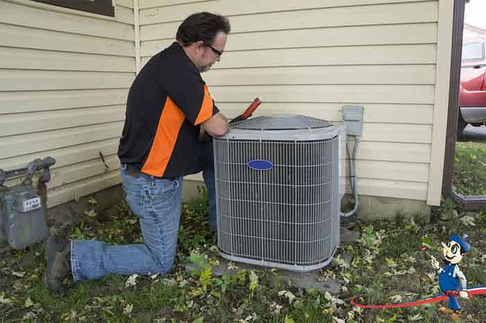 how to reduce noise from outside air conditioner