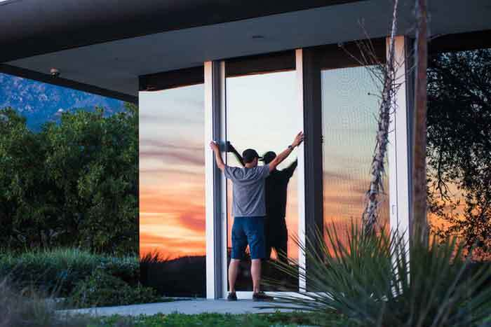 soundproof sliding glass doors
