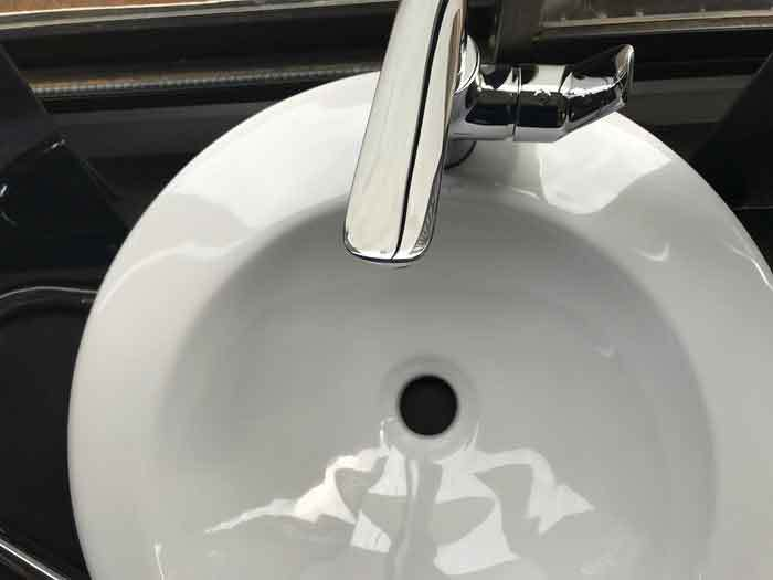 gurgling sink when toilet flushed
