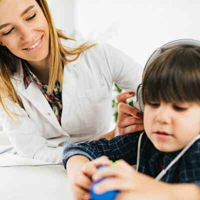 Degrees of Hearing Loss in children