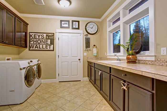 How to Soundproof a Laundry Room Door