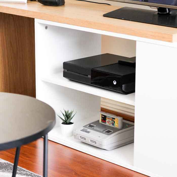Place Your Consoles In A Special Cupboard