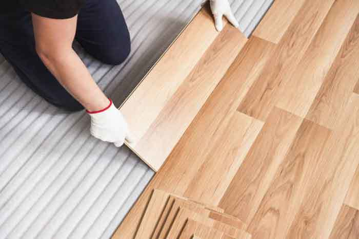 On Acoustic Flooring